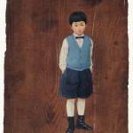 蝶ネクタイの少年